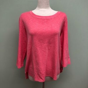 Kirkland Ladies' Slub Tee: Pink (PM1113)